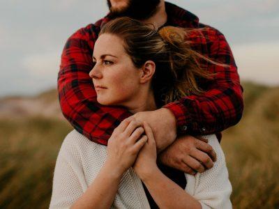 Sunset Beach Couple Session | Fionnuala  + Sean