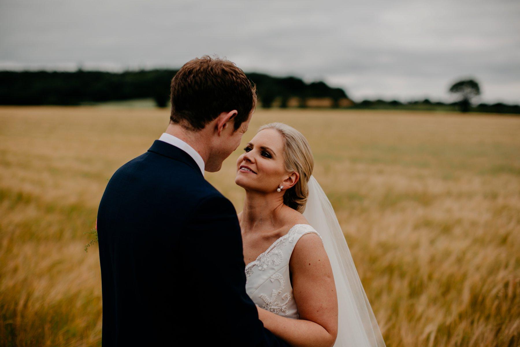 Romantic Irish Wedding